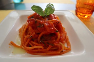 Spaghetti pomodoro fresco